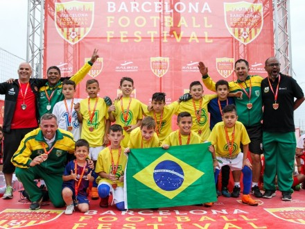 Football Tournament Barcelona Football Festival