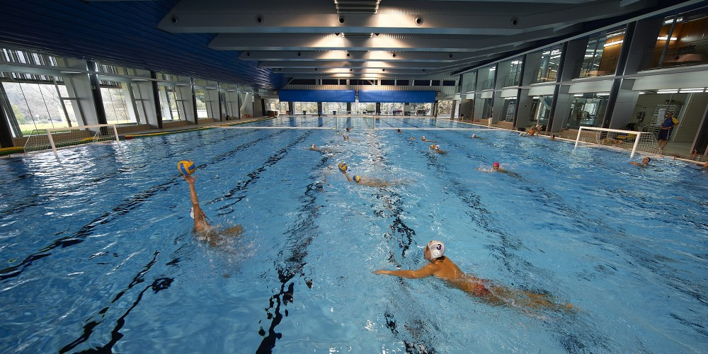 Sant cugat olympic pool salbcn barcelona sports tours for Swimming pool show barcelona